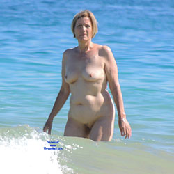 Nice MILF On The Beach - Beach