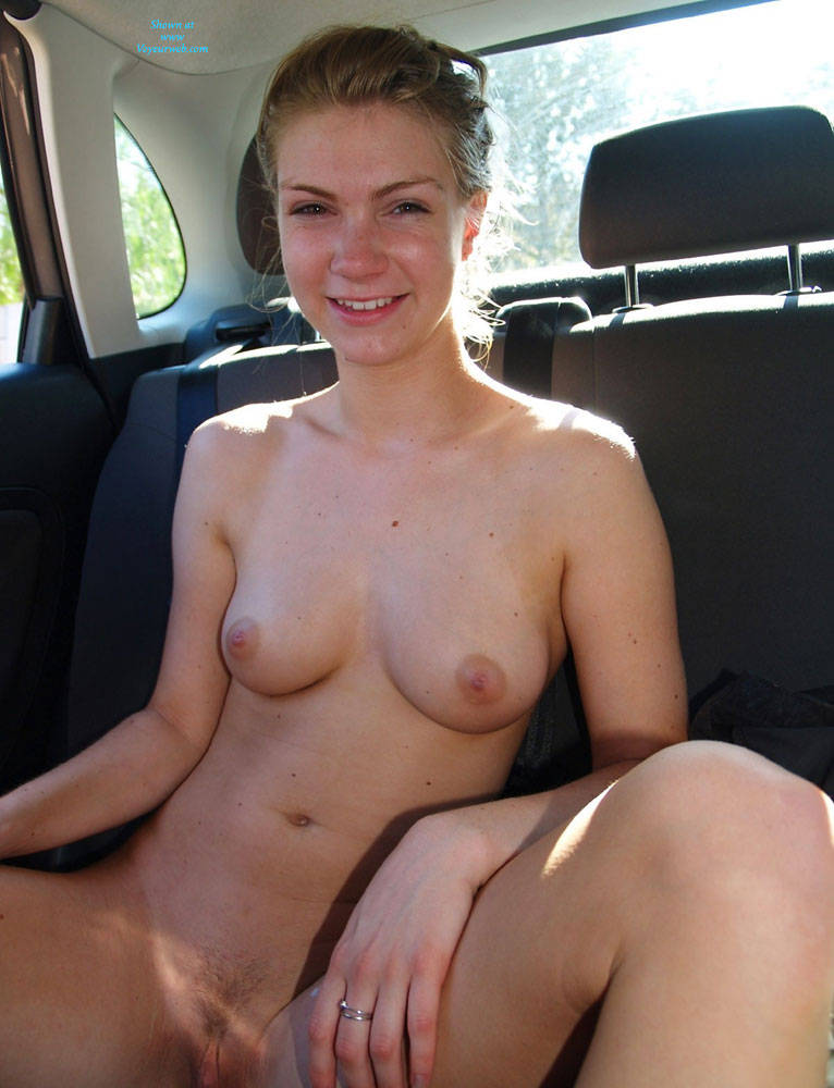 Congratulate, this Amateur pussy flashing in car that necessary