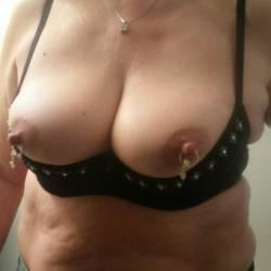 Medium tits of my wife - virgie