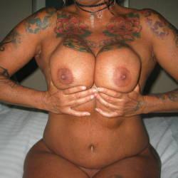 Large tits of my ex-girlfriend - Lisa