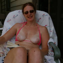 Medium tits of my wife - kiba