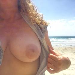 Medium tits of my girlfriend - AngelaD
