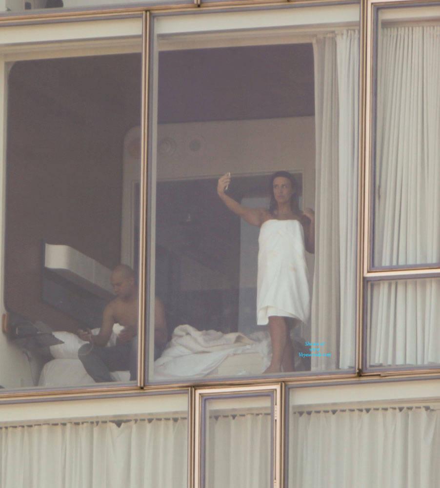 image Hotel window peep pt 7