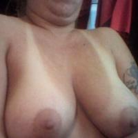 Medium tits of my wife - christy