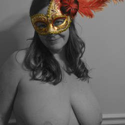 My very large tits - Masked Beauty