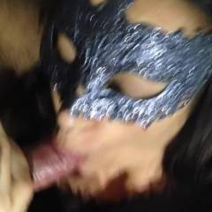 Blowjob And Facial - Cumshot, Brunette, Blowjob, Wife/Wives