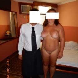 Large tits of my wife - Leka 40