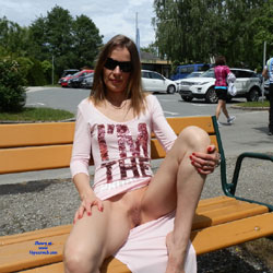 No Pantie In Public - Exposed In Public, Flashing, No Panties, Nude In Public, Shaved Pussy, Spread Legs, Sunglasses, Upskirt, Hairless Pussy, Hot Girl, Sexy Body, Sexy Girl, Sexy Legs