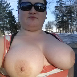 Love Showing Off My Huge Titties! - Big Tits