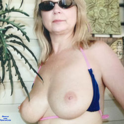 Out Back Nude - Big Tits, Blonde