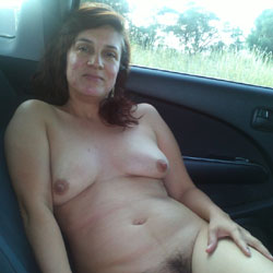 Into The Car - Big Tits, Wife/Wives