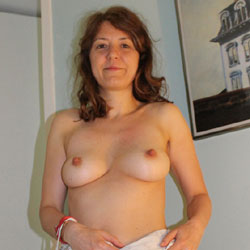 First Time - Big Tits, Brunette Hair, Mature