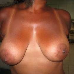 Large tits of a neighbor - Debbie