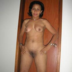 Milagros al Desnudo - Blowjob, Brunette