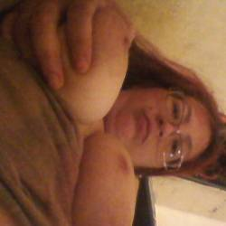 Very large tits of my wife - Joanie King