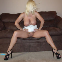 White Dress Part 3 - Big Tits, Blonde, High Heels Amateurs, Wife/Wives