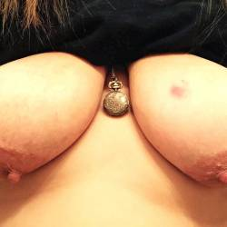 Extremely large tits of my girlfriend - annabelle