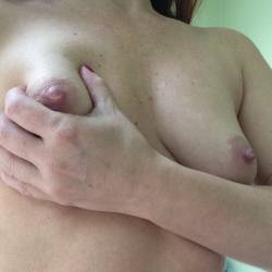 Small tits of my wife - myhotwife