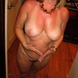 Large tits of my wife - Natural54