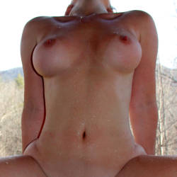Medium tits of my girlfriend - Emma