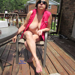 Naked Outdoors - Big Tits
