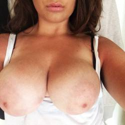 Large tits of a co-worker - stella