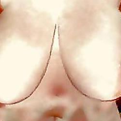Very large tits of a neighbor - Irina