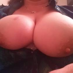 My extremely large tits - Lana