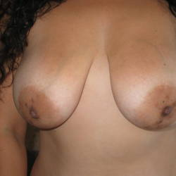Large tits of a neighbor - Honey