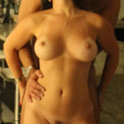 Medium tits of my girlfriend - Eivi