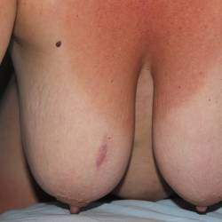 Very large tits of a neighbor - Lana