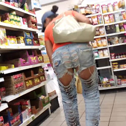 Around With My New Jeans - Public Exhibitionist, Public Place