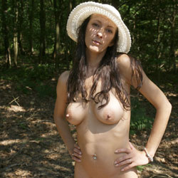 Outdoor Big Tits And Pussy With Hat - Big Tits, Brunette Hair, Exposed In Public, Full Nude, Hanging Tits, Huge Tits, Long Hair, Naked Outdoors, Nude In Public, Nude Outdoors, Perfect Tits, Shaved Pussy, Hairless Pussy, Naked Girl, Sexy Body, Sexy Boobs, Sexy Face, Sexy Figure, Sexy Girl, Sexy Legs