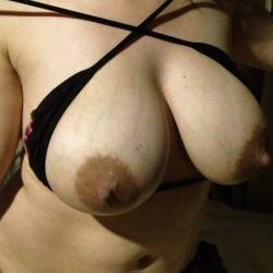 Large tits of my wife - serena