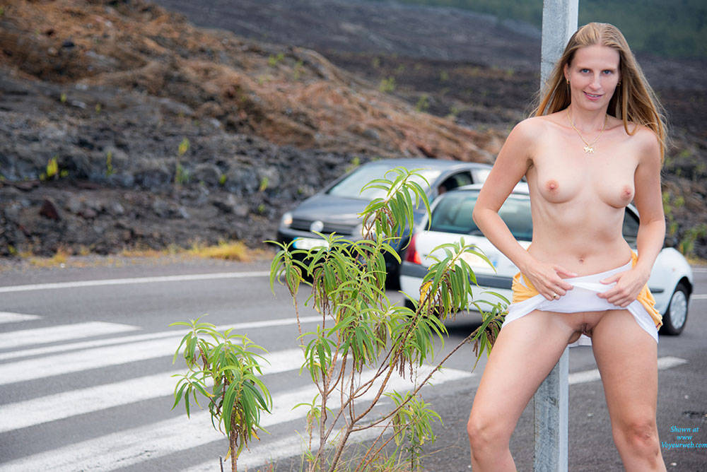 Roadside Naked Show - Blonde Hair, Erect Nipples, Exposed In Public, Firm Tits, Flashing, Full Frontal Nudity, Full Nude, Long Hair, Naked Outdoors, Nipples, Nude In Public, Nude Outdoors, Perfect Tits, Shaved Pussy, Showing Tits, Hairless Pussy, Naked Girl, Sexy Boobs, Sexy Girl, Sexy Legs , Blonde Girl, Naked, Outdoor, Roadside, Shaved Pussy, Legs, Nipples, Firm Tits