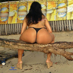 Selma Brasil In Abandoned Beach - Brunette