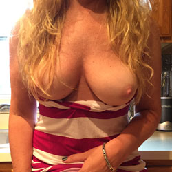 It's Been Awhile * Rabbit Blonde Wife * - Blonde, Big Tits, Wife/Wives