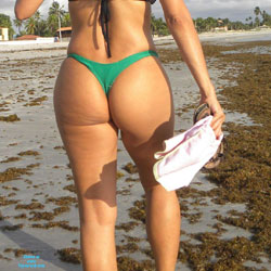 My Green Bikini In Itamaraca Beach - Beach