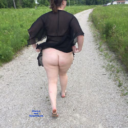 Sexy Walking Trail - See Through