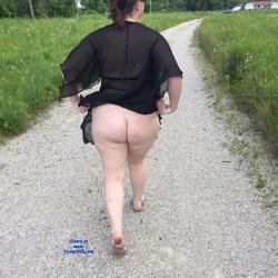 Sexy Walking Trail - See Through