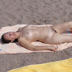 Salome, At The Beach - Beach, Brunette, Wife/Wives