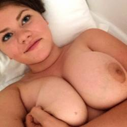 My large tits - Caitlin