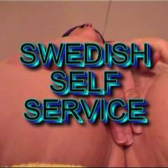 Swedish Self Service - Big Tits, Masturbation