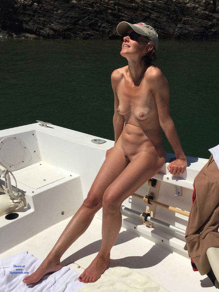 Naked On A Boat - Full Nude, Hard Nipple, Long Legs, Naked Outdoors, Nipples, Nude In Nature, Nude Outdoors, Showing Tits, Small Tits, Hot Girl, Sexy Body, Sexy Feet, Sexy Figure, Sexy Girl, Sexy Legs, Amateur , Outdoor, Nude On Boat, Sun Bathing, Small Tits, Hat,