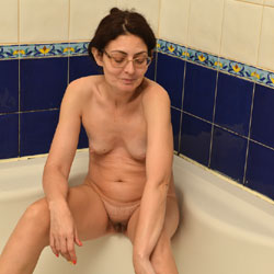 In Bathroom - Brunette