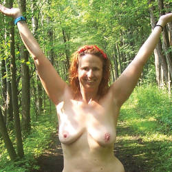 Medium tits of my wife - Rere