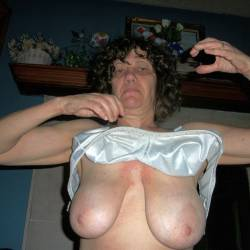 Large tits of my wife - kathy