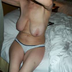 Large tits of my wife - kathy mosca