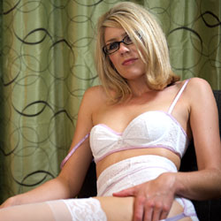 Lingerie And Wax Fun - Blonde, Lingerie