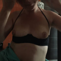 Small tits of my wife - Natty